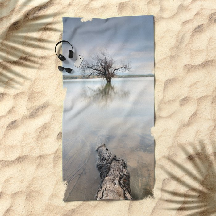 Roots and trees... Beach Towel