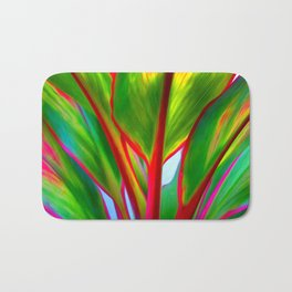 Ti Leaf Series #4 Bath Mat