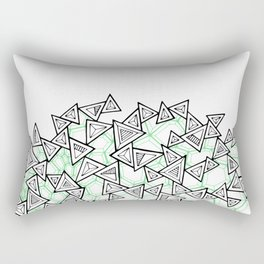 Triangles and Tessellation Rectangular Pillow