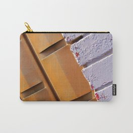 Yellow Brick Lines Carry-All Pouch