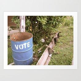 vote Art Print