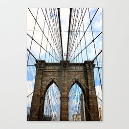 Brooklyn Bridge - New York City 2009 Canvas Print