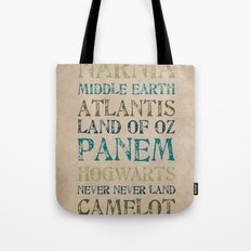 Fantasy Realms Tote Bag