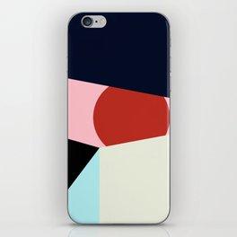 Circle Series - Red Circle No. 1 iPhone Skin