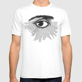 I See You. Black and White T-shirt