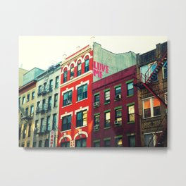 New York City Love Metal Print