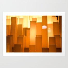 Shades of Orange #2 - Photography Art Art Print