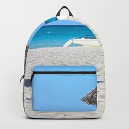 Caribbean beach Backpack
