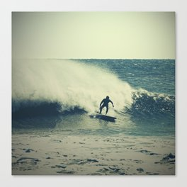 Surf Spray Canvas Print