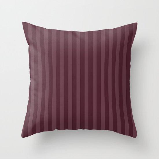 Vertical Stripes Throw Pillow