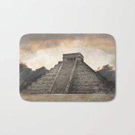Mayan pyramid - Mexico Bath Mat