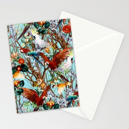 Floral and Birds XXX Stationery Cards