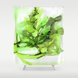 Organic Ecstasy No.55h by Kathy Morton Stanion Shower Curtain