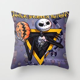 Alice Cooper : Welcome to my nightmare Throw Pillow