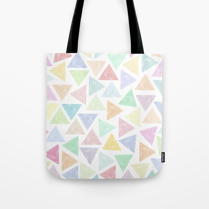 Colorful Geometric Patterns Tote Bag