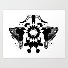 BP Spill #3 Art Print