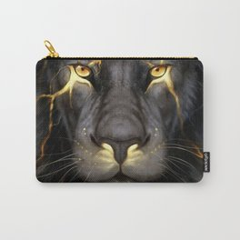 LION-GOLD-ART Carry-All Pouch