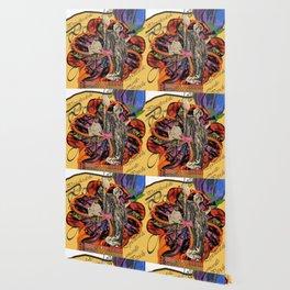 Psychedelic amarillo Wallpaper