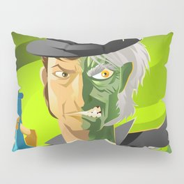 doctor jekyll and mister hyde monster tranformation with green potion Pillow Sham