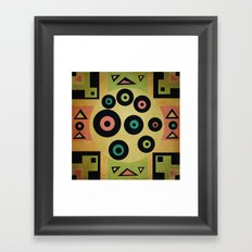 carpet pattern Framed Art Print