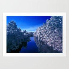 Rivanna River Art Print