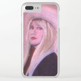Stevie Nicks Lady from the mountain Clear iPhone Case