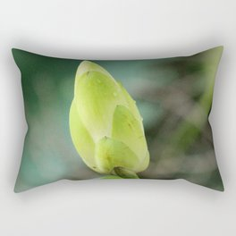 Lotus Bud Rectangular Pillow