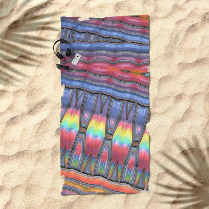 The Primitives Beach Towel