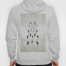 Dreamcatcher in black and white Hoody