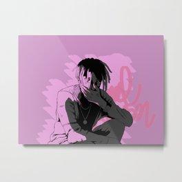 Pink punk Metal Print