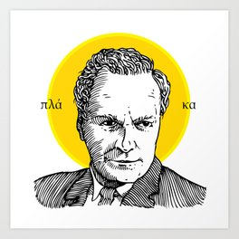 St. Feynman Art Print