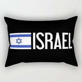 Israel: Israeli Flag & Israel Rectangular Pillow