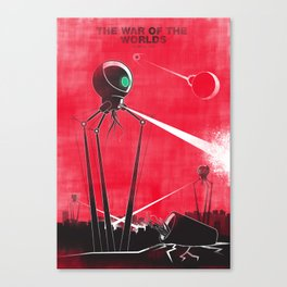 The War Of The Worlds - H G Wells Canvas Print