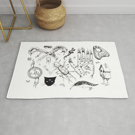 Witchcraft Flash Sheet Rug