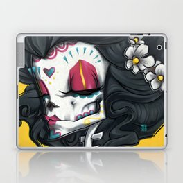 Madame Muerte PAINT Laptop & iPad Skin