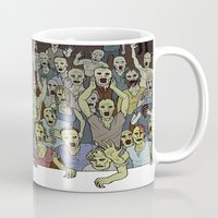 zombies Mugs featuring Zombies!!! by Justin McElroy