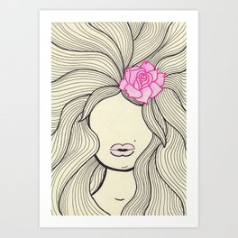 Rosalie Art Print