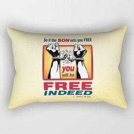 FREE INDEED! Rectangular Pillow