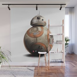 BB-8 by dana alfonso Wall Mural