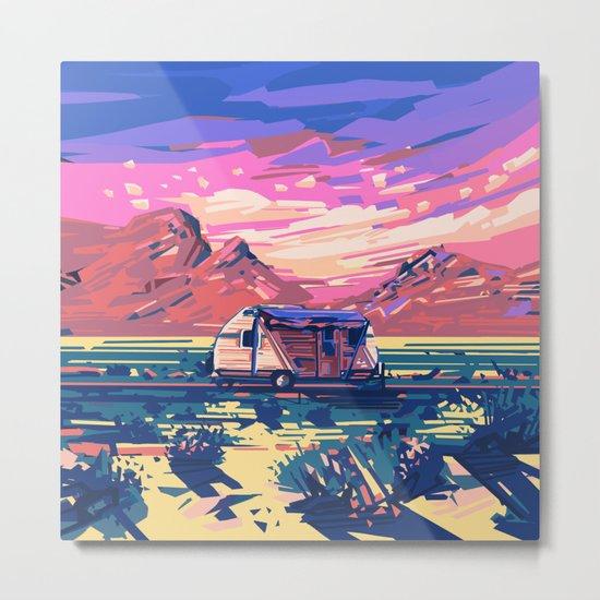 american landscape 5 Metal Print