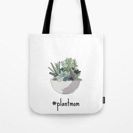 #plantmom Tote Bag