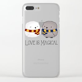 Love is Magical Clear iPhone Case