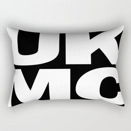UK MC Explicit Content Rectangular Pillow