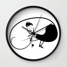 DOW Wall Clock