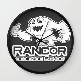 Rancor Obedience School Wall Clock
