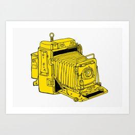 Folding Plate Camera Art Print