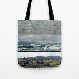 Terre, glace et mousse Tote Bag