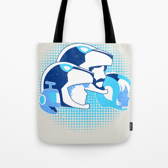 Travel Among Unknown Stars Tote Bag