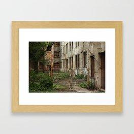 Alleys of Kaunas Framed Art Print
