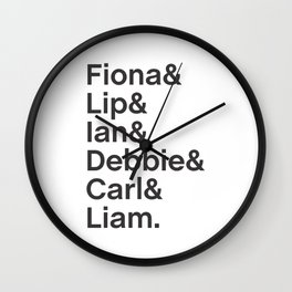 Gallaghers Wall Clock